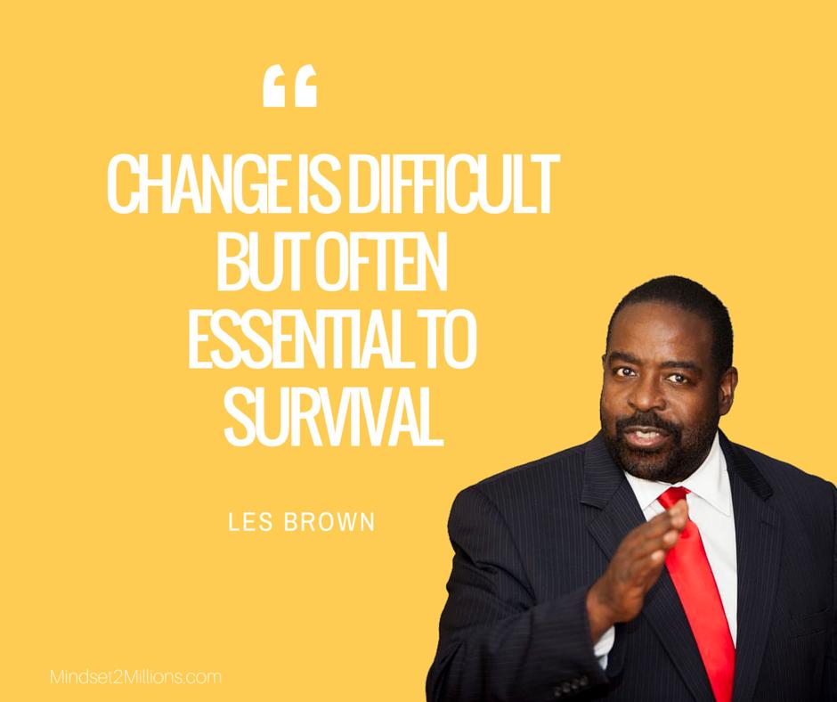 55 Motivational Les Brown Quotes - Mindset2Millions